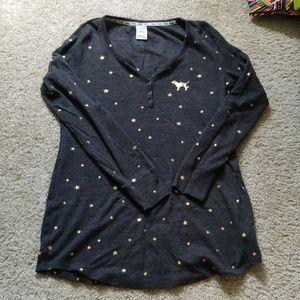 Thermal PINK sleep shirt